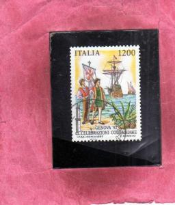 ITALIA ITALY 1992 MANIFESTAZIONI COLOMBIANE SCOPERTA DELL´AMERICA LO SBARCO ...
