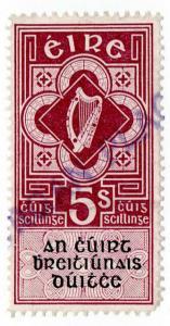 (I.B) Ireland Revenue : District Court of Justice 5/-
