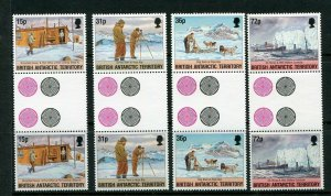 British Antarctic Territory Scott 214-17 Operation Tabarin 1994 Mint NH Gutters