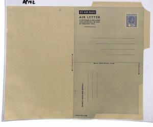 AP142 Fiji Airmail Air Letter Postal Stationery Cover PTS