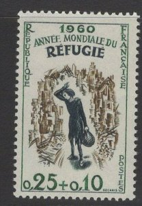 FRANCE SG1483 1960 WORLD REFUGEE YEAR MNH