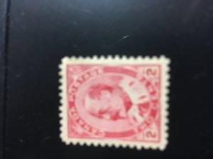 Canada #90 Mint O.G.- VF-LH-Fresh 1903 2c Edward USC Cat. C$100.