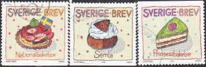 Sweden #2294-2299 Used Set