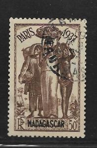 MADAGASCAR, 194, USED, PARIS INTERNATIONAL EXPOSITION ISSUE