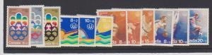 CANADA MONTREAL OLYMPIC STAMPS MNH B1-B12 LOT#21
