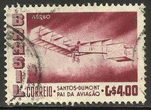 Brazil Air Mail 1956 Scott# C84 Used