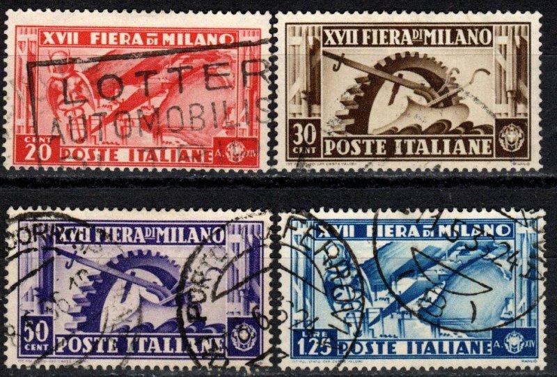 Italy #355-8  F-VF Used CV $5.25 (X3082)