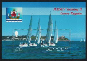 Jersey Yachting 2nd issue 150th Anniversary of Gorey Regatta MS SG#MS1319