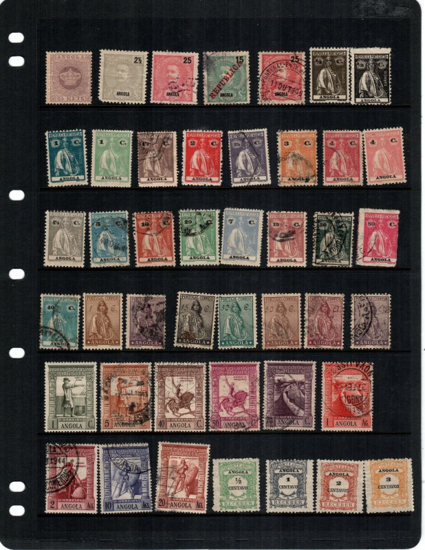 Angola  43  different MH and used