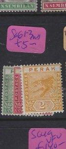 MALAYA PERAK  (PP1401B)   TIGER  1C-2C  SG  61-3     MOG