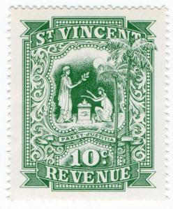 (I.B) St Vincent Revenue : Stamp Duty 10c