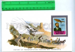 255199 Upper Volta aviation Otto Lilienthal mint stamp