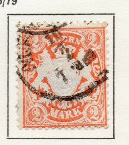 Bayern Bavaria 1876-79 Early Issue Fine Used 2M. NW-120717