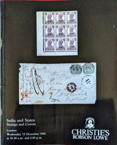 Auction Catalogue INDIA and STATES
