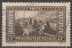 Monaco #112 F-VF Used  (S7748)
