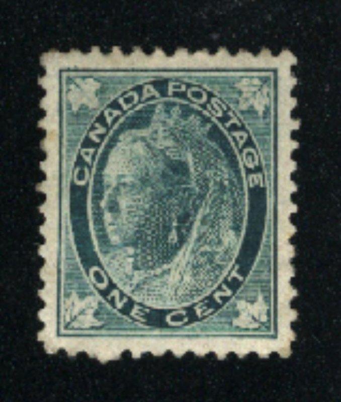 Canada #67   Mint VF  PD