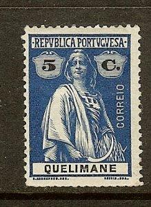 Quelimane, Scott #31, 5c Ceres, MH