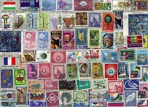 200 ALL DIFFERENT UNITED NATIONS ( NEW YORK) STAMPS