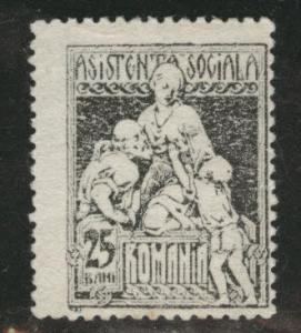 Romania Scott RA14 MH* postal tax stamp 1921