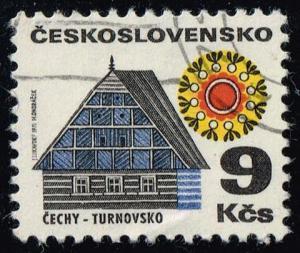 Czechoslovakia #1740 Cottage in Turnov; CTO (0.25)