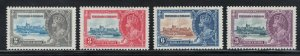 Trinidad and Tobago 1935 Silver Jubilee Omnibus Scott # 43 - 46 MH