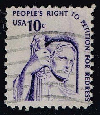 US #1592 Contemplation of Justice; Used (0.25)