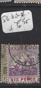 BARBADOS  (PP1610B)  SEAHORSE  SG 110-111   VFU