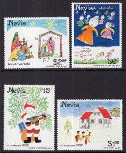 Nevis 159-162 Christmas MNH VF