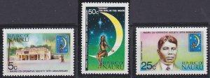 Nauru 105-107 MNH (1973)