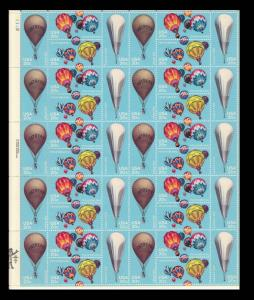 Scott# 2032-2035 BALLOONS 1983 20c MNH SHEET of 40 (brnhco2)