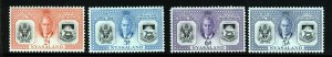 NYASALAND King George VI 1951 Diamond Jubilee of Protectorate SG 167 to 170 MINT