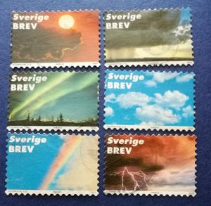 Sweden # 2396a-f Used