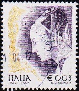 Italy. 2002 3c .G.2707 Fine Used