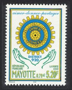 Mayotte District 920 of Inner Wheel women's section of Rotary International 1v