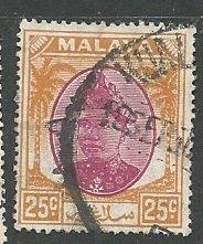 Malya - Selangor || Scott # 89 - Used ©