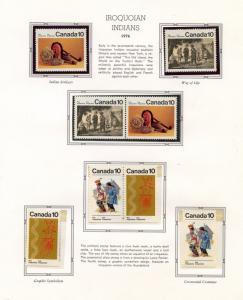 CANADA 1976 YEAR COLLECTION MINT NH AS SHOWN ON WHITE ACE  ALBUM PAGES