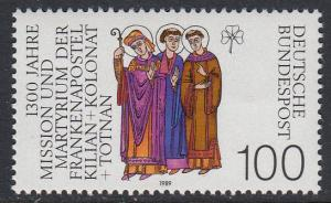Germany 1580 MNH - Martyred Missionaries