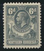 Northern Rhodesia  SG 7 SC# 7 Mint Light hinge - see details