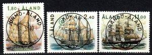 Finland  Aland Islands #31-3  F-VF Used CV $15.50 (X1031)