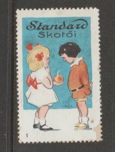 Cinderella revenue fiscal stamp 9-9-14  children