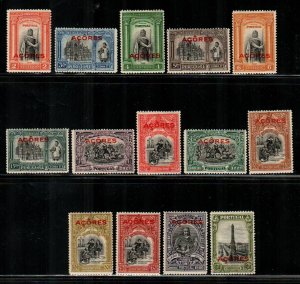 Azores #258-271  Mint  Scott $21.75