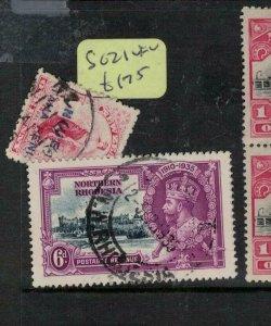 Northern Rhodesia Silver Jubilee SG 21 VFU (8enc)