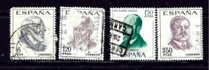 Spain 1500-03 Used 1967 set couple nibbed corner perfs
