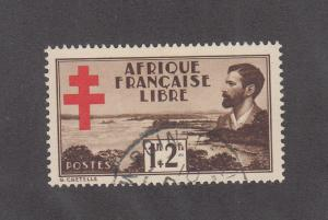 French Equatorial Africa Scott #B9 Used
