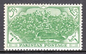 Pakistan - Scott #71 - MNH - Light gum toning - SCV $11