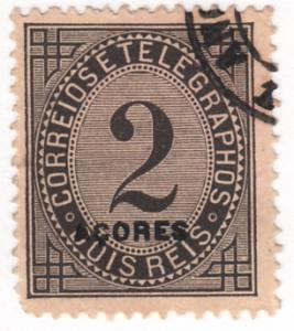 Azores, Scott # P3 (2),  Used