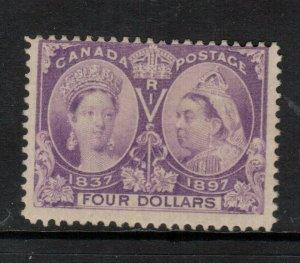 Canada #64 Mint Fine Full Original Gum Lightly Hinged