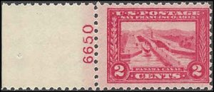 402 Mint,OG,NH... SCV $160.00... Plate# single