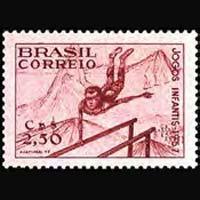 BRAZIL 1957 - Scott# 847 Games Set of 1 NH