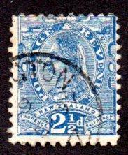 NEW ZEALAND 68 USED SCV $5.00 BIN $1.70 ROYALTY